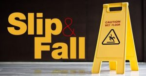Personal injury slip and fall